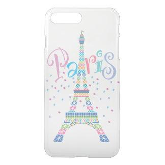 Confeti iPhone7 de la torre Eiffel más el caso Funda Para iPhone 8 Plus/7 Plus