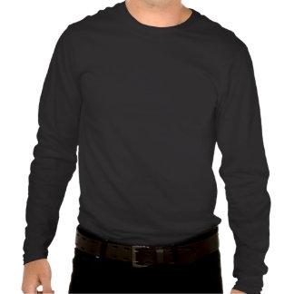 Confianza - camiseta larga de la manga de la