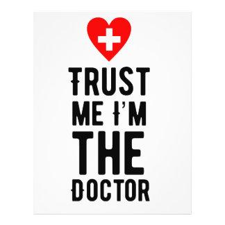 Confíe en al doctor folleto 21,6 x 28 cm