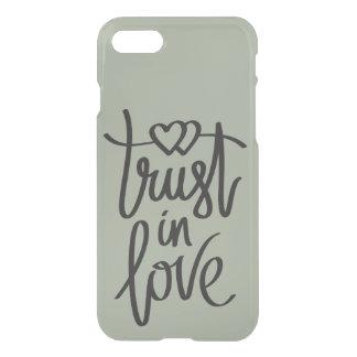 Confíe en en caso precioso del iphone 7 de las funda para iPhone 7