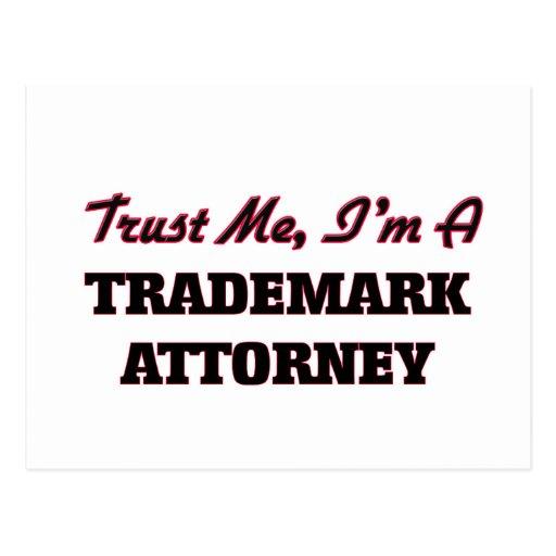 Confíe en que yo es abogado de la marca registrada