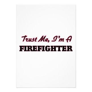 Confíe en que yo es bombero comunicados personales