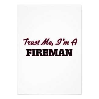 Confíe en que yo es bombero anuncios