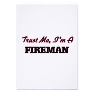 Confíe en que yo es bombero comunicado