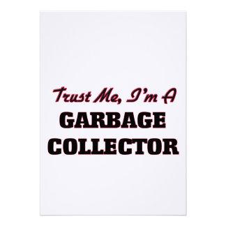 Confíe en que yo es colector de basura comunicados personales