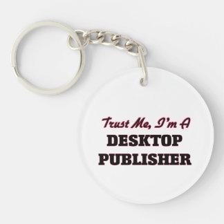 Confíe en que yo es editor de escritorio llaveros