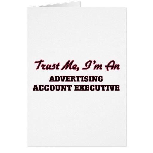 Confíe en que yo es ejecutivo de cuenta de tarjeta