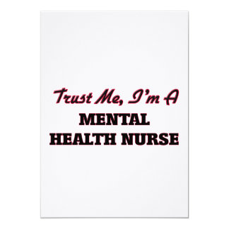 Confíe en que yo es enfermera de salud mental anuncios