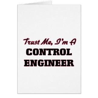 Confíe en que yo es ingeniero de control felicitaciones