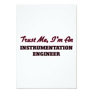 Confíe en que yo es ingeniero de la invitación 12,7 x 17,8 cm