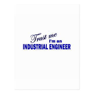 Confíe en que yo es ingeniero industrial postal