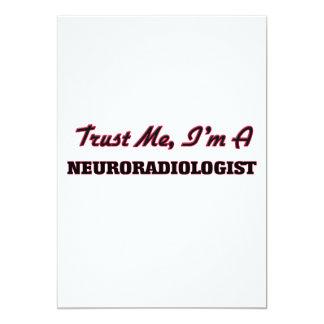 Confíe en que yo es neuroradiólogo anuncio personalizado
