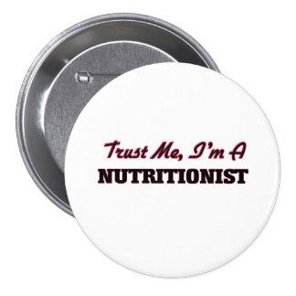Confíe en que yo es nutricionista pin