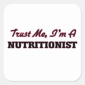 Confíe en que yo es nutricionista