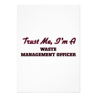 Confíe en que yo es oficial de la gestión de invitación