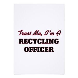 Confíe en que yo es oficial de reciclaje comunicados personales