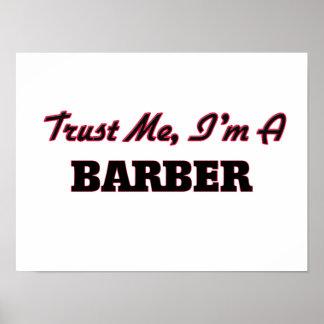 Confíe en que yo es peluquero