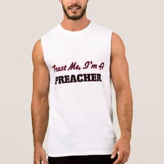 Confíe en que yo es predicador camiseta sin mangas