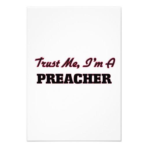 Confíe en que yo es predicador comunicado