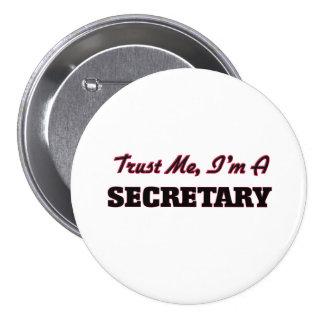 Confíe en que yo es secretaria pins