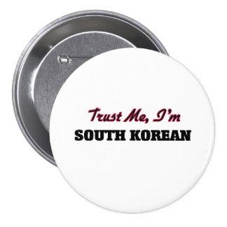 Confíe en que yo es surcoreano pins