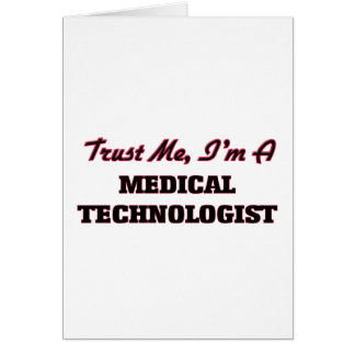Confíe en que yo es tecnólogo médico tarjetón