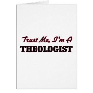 Confíe en que yo es un aologist tarjeta de felicitación