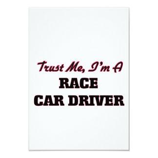 Confíe en que yo es un conductor de coche de invitación 8,9 x 12,7 cm