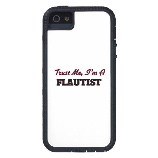 Confíe en que yo es un flautista iPhone 5 Case-Mate carcasa