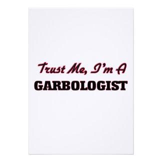 Confíe en que yo es un Garbologist Comunicados Personales