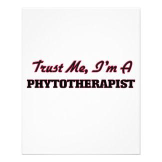 Confíe en que yo es un Phytoarapist Flyer A Todo Color