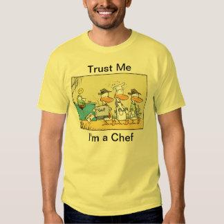 Confíe en que yo es una camisa para hombre