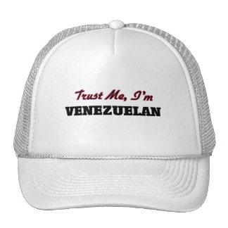 Confíe en que yo es venezolano gorras de camionero