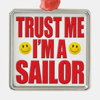 Confíeme en vida del marinero adorno para reyes