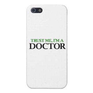 Confíeme en, yo son un doctor iPhone 5 protector