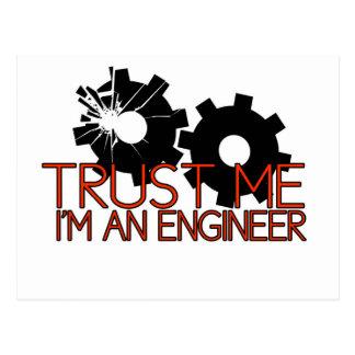 Confíeme en, yo son un ingeniero postal