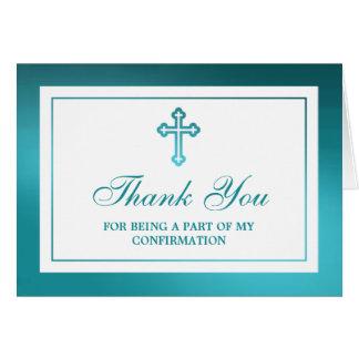 Confirmación metálica de la comunión santa de la tarjeta de felicitación