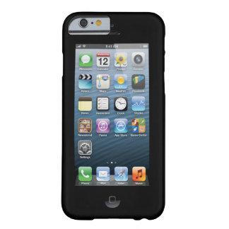 Confunda a la gente con la impresión de pantalla funda barely there iPhone 6