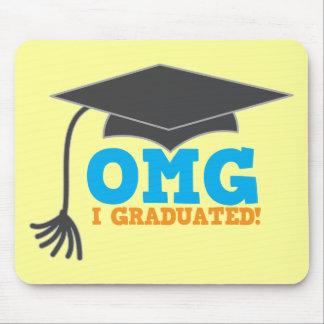 ¡Congratuations de OMG I graduado! Alfombrilla De Ratón