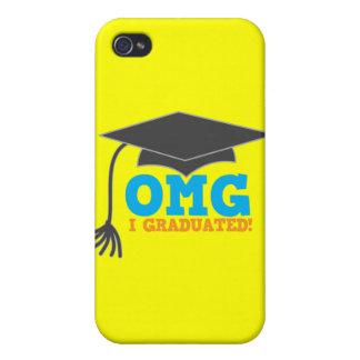 ¡Congratuations de OMG I graduado! iPhone 4 Carcasas