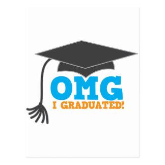 ¡Congratuations de OMG I graduado! Postal