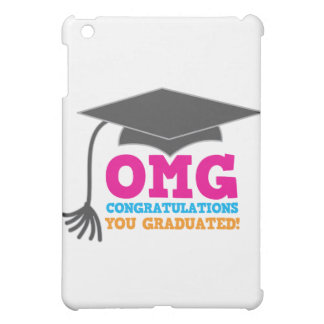 ¡Congratuations de OMG que usted graduó!