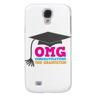 ¡Congratuations de OMG que usted graduó! Funda Para Galaxy S4