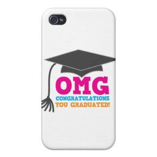 ¡Congratuations de OMG que usted graduó! iPhone 4/4S Funda