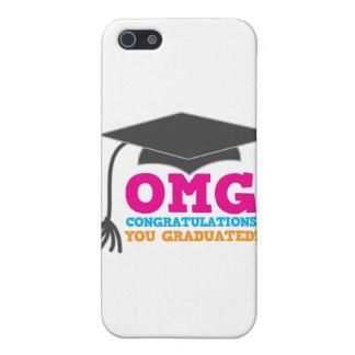 ¡Congratuations de OMG que usted graduó! iPhone 5 Carcasa