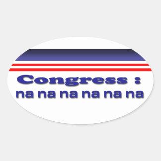 Congreso Pegatina Ovalada