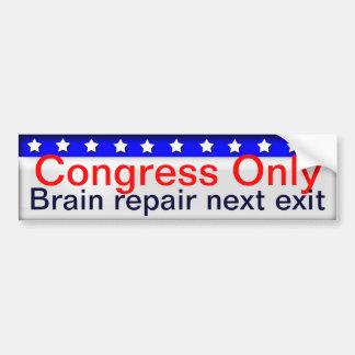 Congreso Pegatina Para Coche