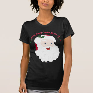 ¿Conjetura de Santa del vintage quién está Camiseta