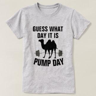 Conjetura qué día es camisa del gimnasio del día
