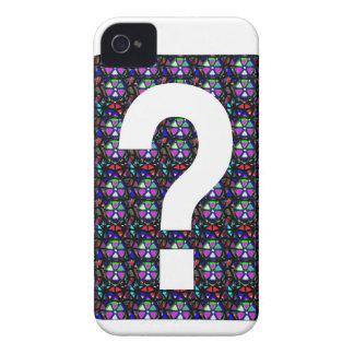 CONJETURE el arte NVN543 del símbolo de la pregunt iPhone 4 Coberturas